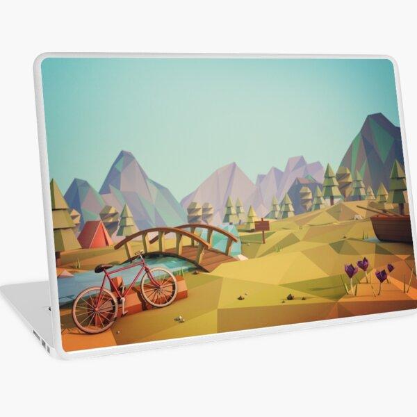 Geometric Enjoy Nature Laptop Skin