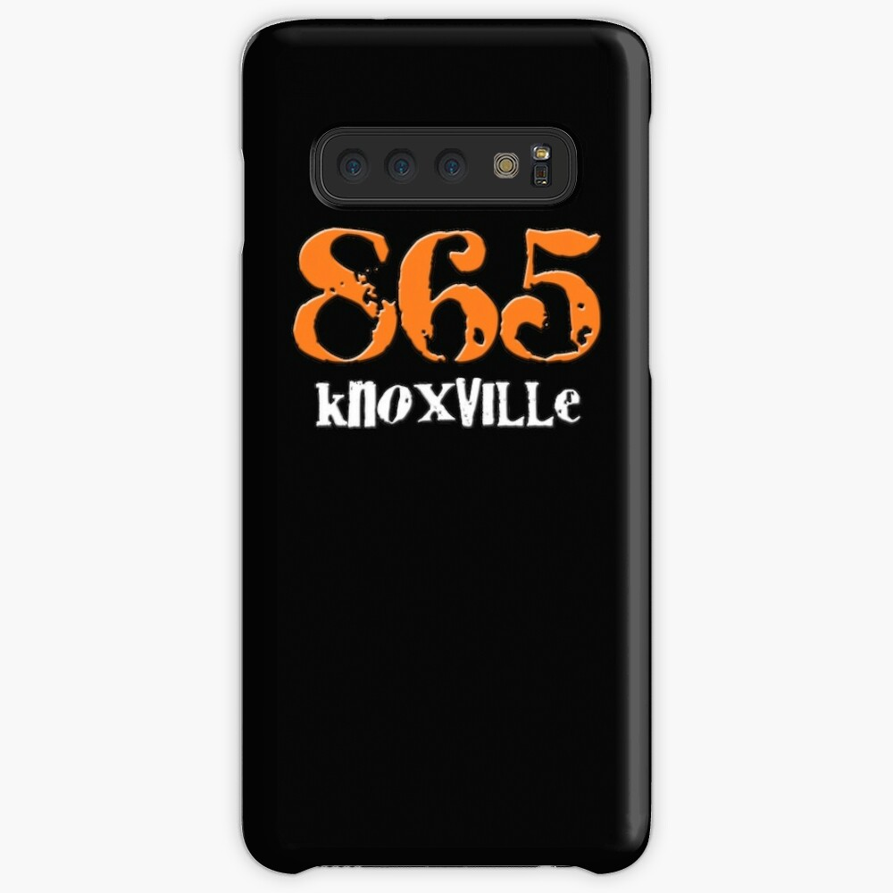 Knoxville TN Tennessee 865 Area Code Hometown Volunteers Orange White |  Case & Skin for Samsung Galaxy