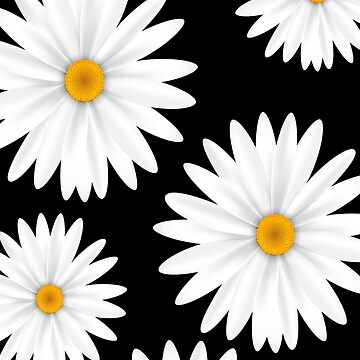 Daisy Flower iPhone / Android Phone Cases - Daisy Flower Phone Case - White Daisy Flower by spectramynd