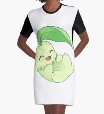 chikorita Graphic T-Shirt Dress