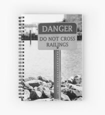 """Safety Sign"" Spiral Notebook"