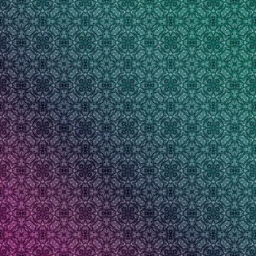 Gradient, geometric pattern 1 by fuzzyfox