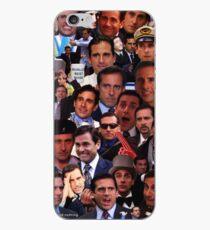 Michael Scott Die Büro-Collage iPhone-Hülle & Cover