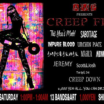 CREEP FEST by thespiltink