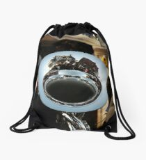 Town Reflection Drawstring Bag