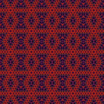Purple red ornament by fuzzyfox