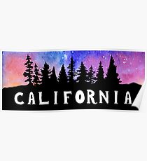 Cosmic California Poster
