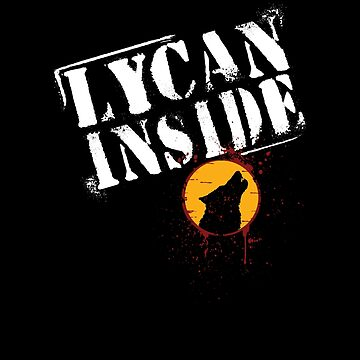 Lycan Inside Howling Wolf by 2catminimum