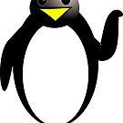 Niedlicher Pinguin von clelkin