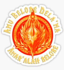 Bal'a dash, malanore Sticker