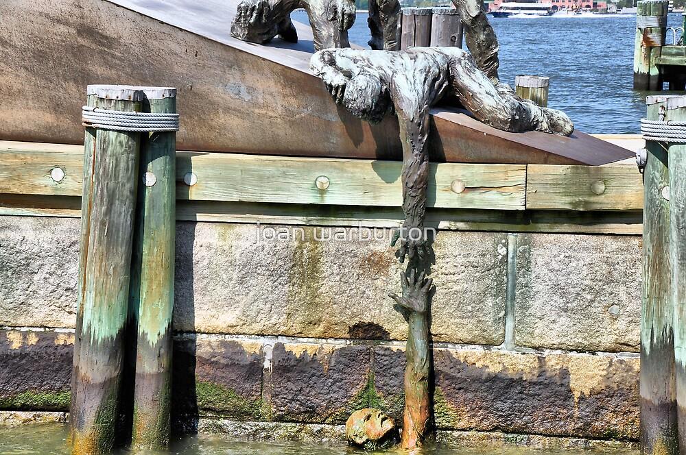 Battery Park Memorial by joan warburton
