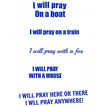 I Will Pray ANYWHERE! by TCCPublishing