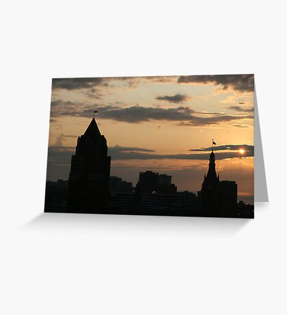 The Skies Awake Greeting Card