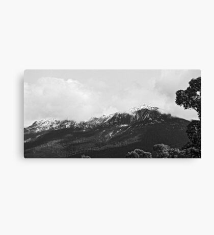 Mount Wellington From West Hobart Canvas Print