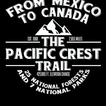 The Pacific Crest Trail - From Canada to Mexico by EstelleStar