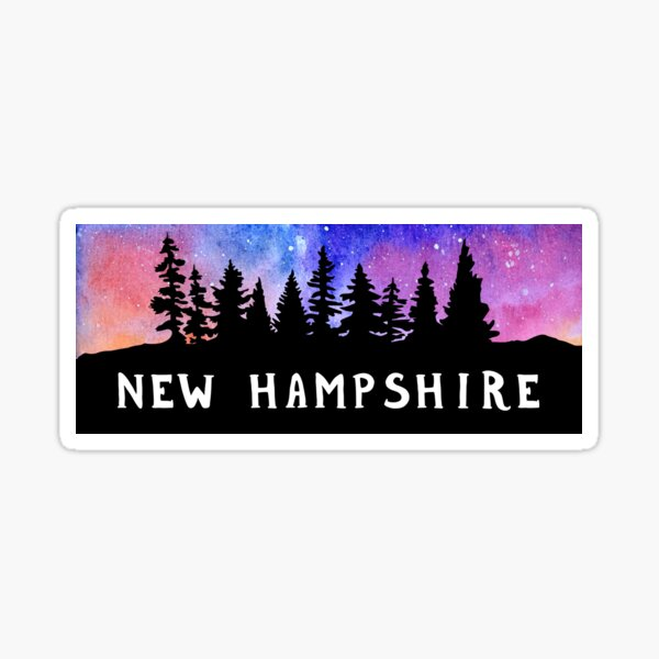 Cosmic New Hampshire Sticker