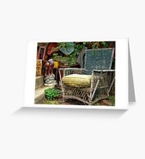 Come Sit a Spell Greeting Card