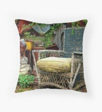 Come Sit a Spell Throw Pillow