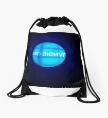 NO SIGNAL Drawstring Bag