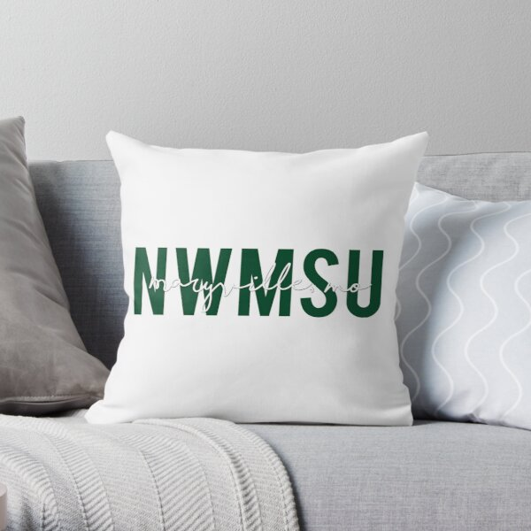 Northwest Missouri State University Throw Pillow