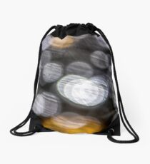Blurry Heart Bubbles Drawstring Bag