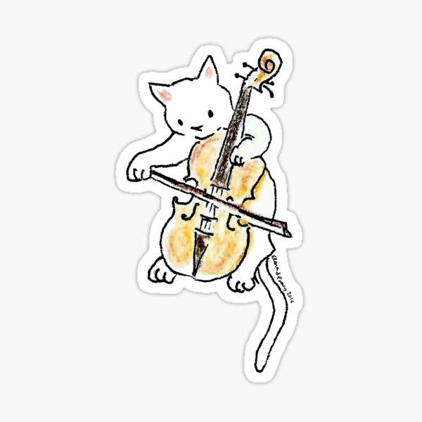Meowtet: Abby Sticker
