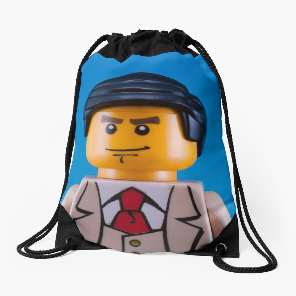 Alan Turing Portrait Drawstring Bag