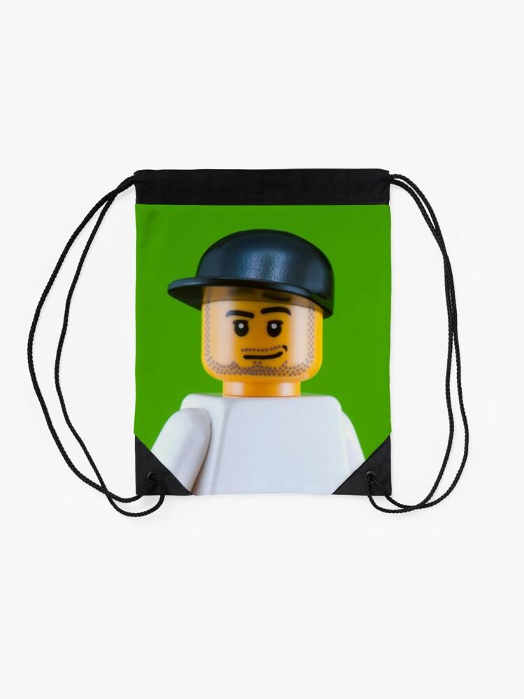 Alternate view of Mark Cavendish Portrait Drawstring Bag