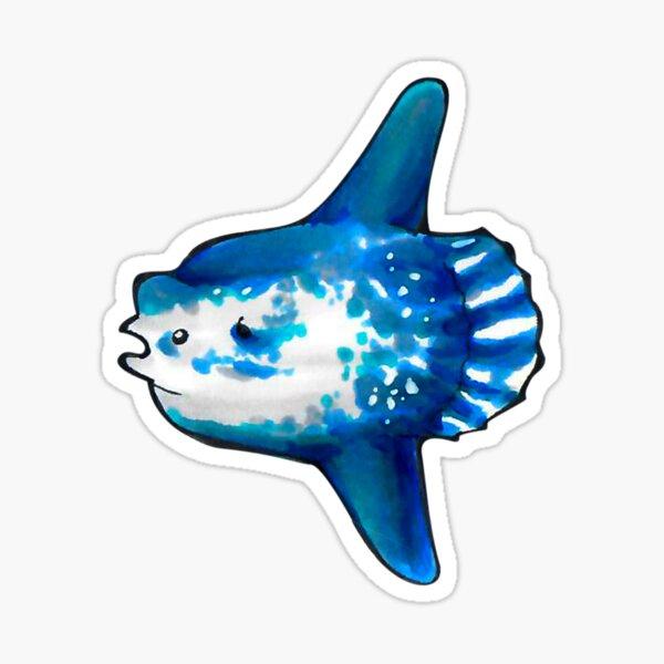 Mondfisch (Mola Mola) Sticker