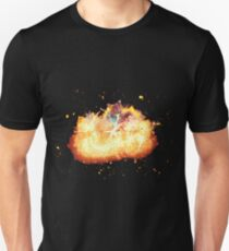 Mermaid sea man burning Unisex T-Shirt