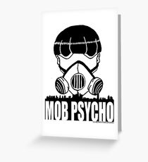 Mob Psycho Greeting Card