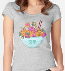 Ramen Fantasy Women's Fitted Scoop T-Shirt