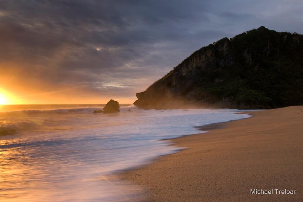 Kohaihai Bluff. by Michael Treloar