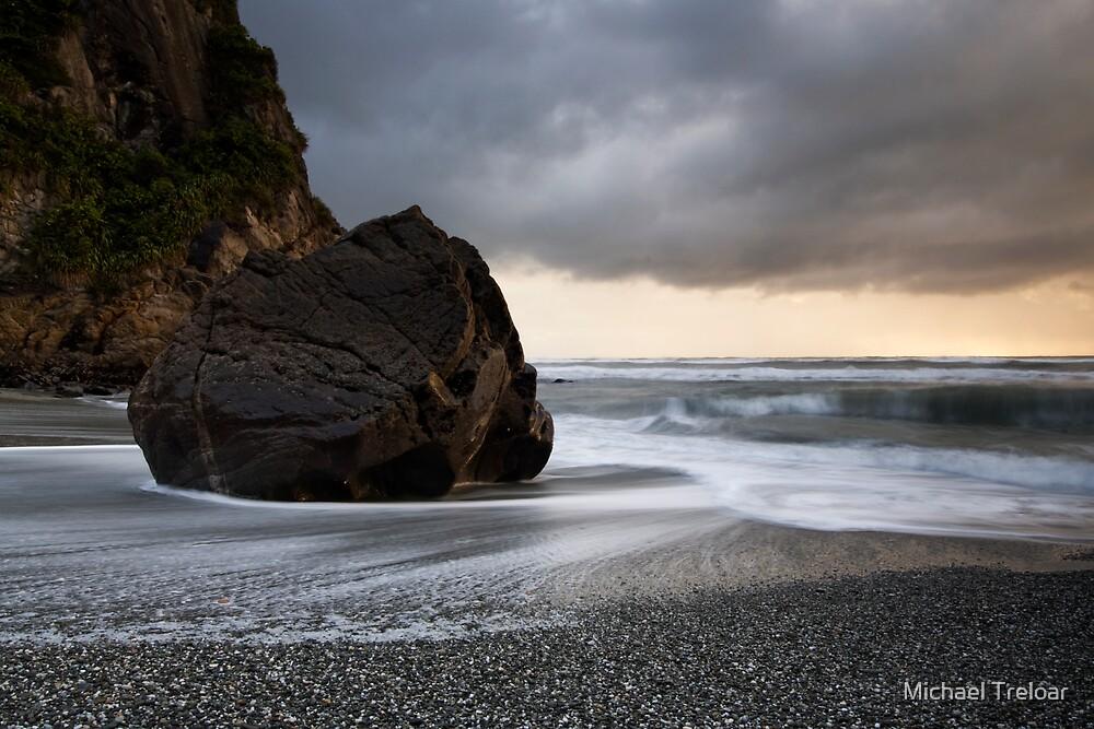 West Coast Sunset. by Michael Treloar