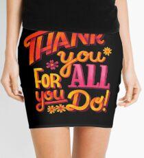 Thank you! Mini Skirt