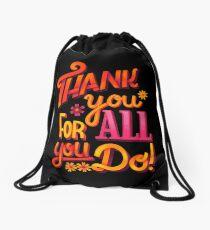 Thank you! Drawstring Bag