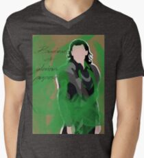 Burdened with glorious purpose Men's V-Neck T-Shirt
