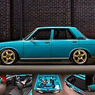 Daniel Timbs' Datsun 1600  by HoskingInd