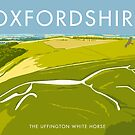 The Uffington White Horse by Stephen Millership