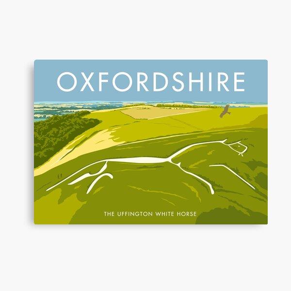 The Uffington White Horse Canvas Print