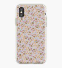 Boho Floral Bloom soft cream iPhone Case