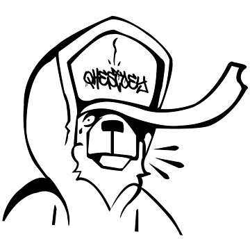 Graffiti bear by oxLeinadxo