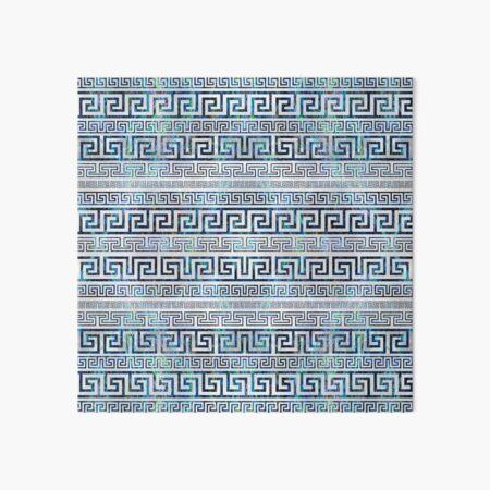 Greek Meander Pattern - Greek Key Ornament Art Board Print