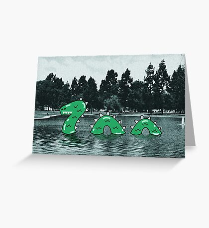 Nessy Greeting Card