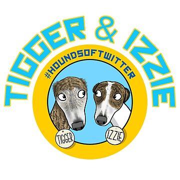 Tigger & Izzie by jameshardy
