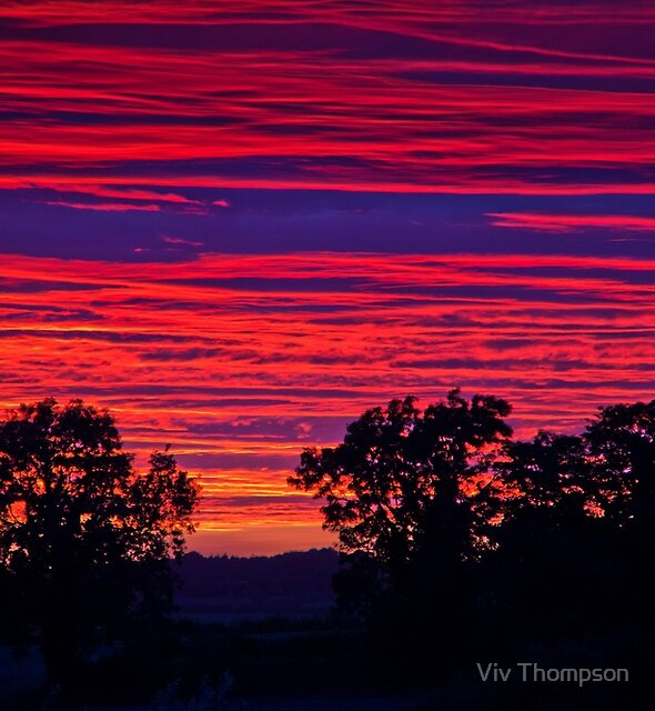 September Sunset by Viv Thompson