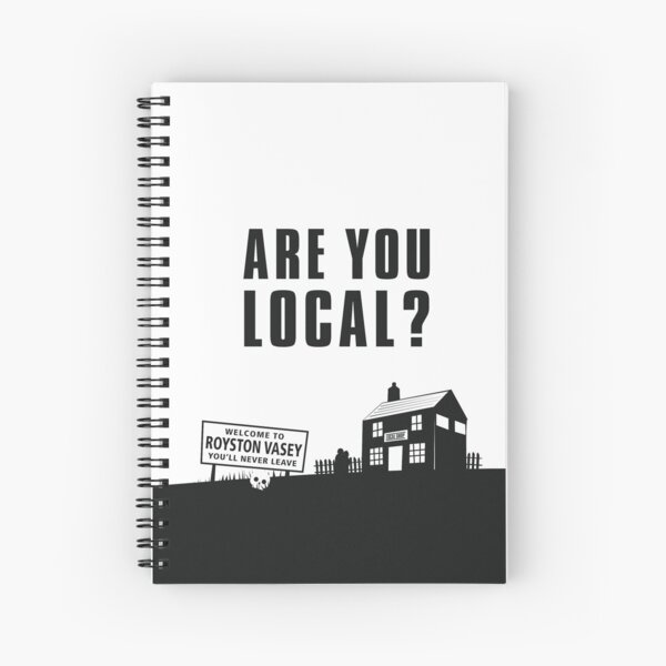 Are You Local? #2 Spiral Notebook