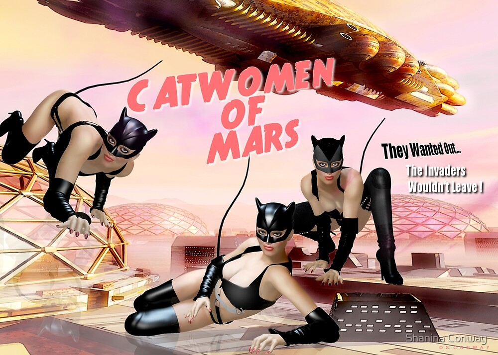 Catwomen of Mars by Shanina Conway