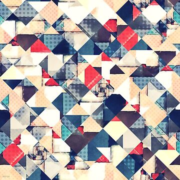 Geometric Graphic Abstract by perkinsdesigns