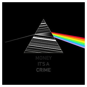 Pink Floyd Dark Side Money by GetItGiftIt